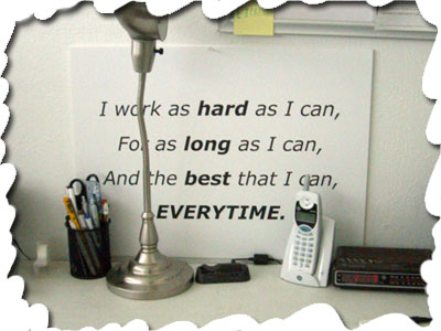 motivational quotes for work. My latest motivational addition